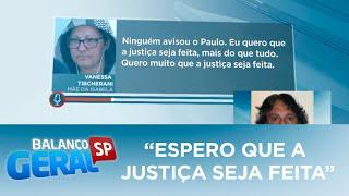 """""""Espero que a justiça seja feita"""", diz mãe da namorada de Rafael Miguel"""