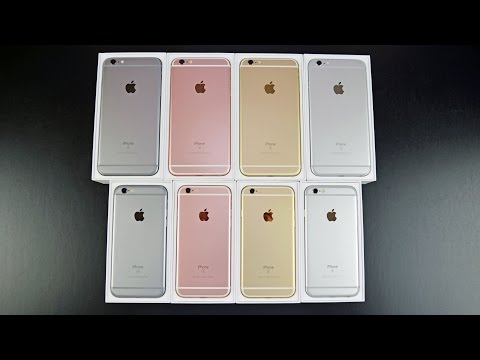 Apple iPhone 6s & 6s Plus: Unboxing & Review (All Colors)