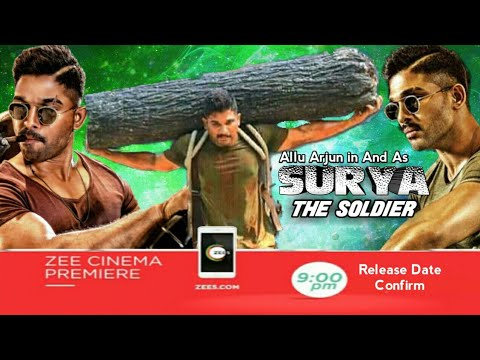 Surya The Soldier Hindi Dubbed | in Theatre 7 Sept | Allu Arjun,Enu Emanuel,Arjun Sarja |