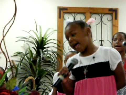 FULL GOSPEL KINGDOM KIDS CHOIR SOLOIST  LITTLE MS. SAMYRA