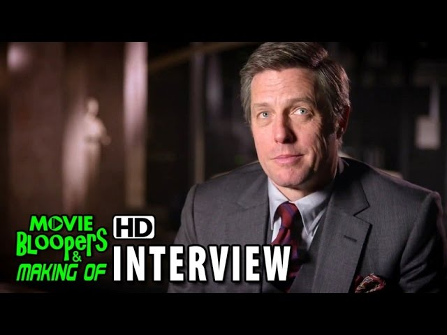The Man from U.N.C.L.E. (2015) Behind the Scenes Movie Interview - Hugh Grant is 'Waverly'