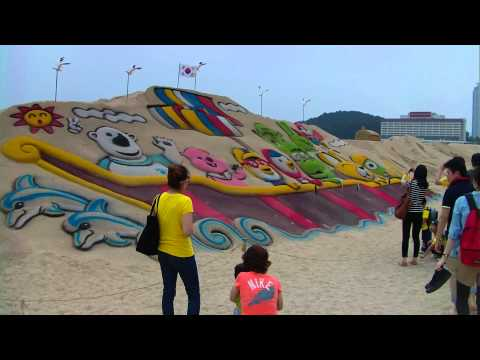 naked Korean sands  festival