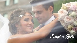 Sergei and Julie. Slavic Christian Center. Tacoma Wedding videographer