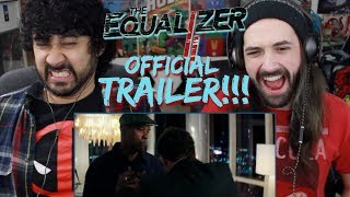 THE EQUALIZER 2 - Official TRAILER REACTION & REVIEW!!!