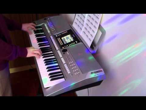 Jak Zagrać 20# Akcent -Przez Twe Oczy Zielone /keyboard S910 HD