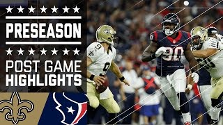 Saints vs. Texans | Game Highlights | NFL