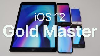 iOS 12 GM - What's New?