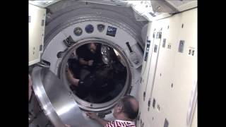 Expedition 35 Prepares to Leave the ISS