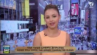 Aimee Carrero talks about being the first Latina Disney princess