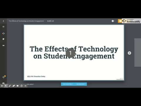 Beautiful ai The Effects of Technology on Student Engagement