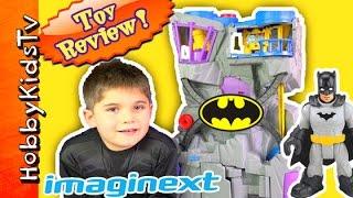 Batman Imaginext Batcave Toy Review
