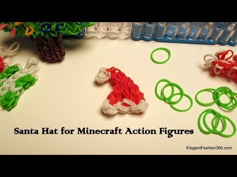 How to make Santa Hat on Rainbow Loom