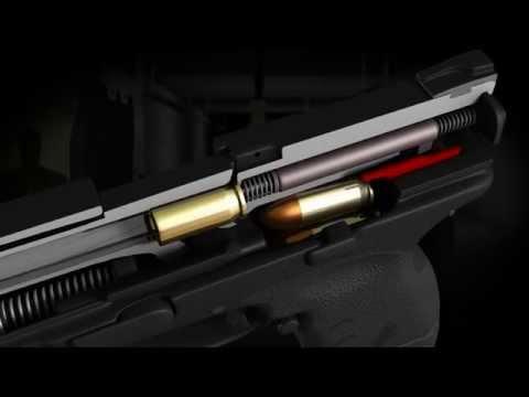 Пистолет Springfield Armory XDM 45 Compact. Конструкция в 3D