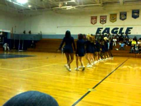East Montgomery High School Cheerleaders