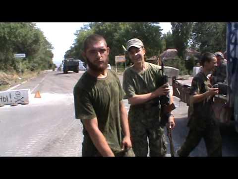 Джихад-автомобиль Корреспондента и Артиста по пути в Донецк