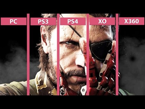 Metal Gear Solid 5 The Phantom Pain – PC vs. PS4 | PS4 vs. PS3 | XO vs. X360 Graphics Comparison