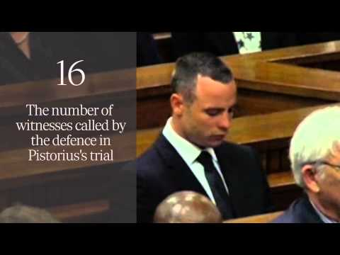 The Oscar Pistorius trial by numbers: from shooting to sentencing