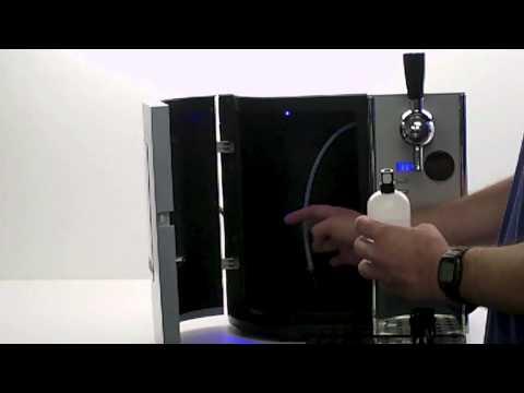 EdgeStar - TBC50S Mini Kegerator- Pressurized Keg Setup