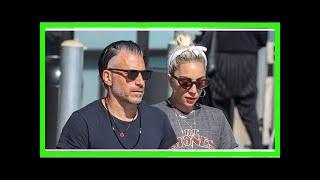 Lady Gaga & Boyfriend Christian Carino Run Errands in Malibu