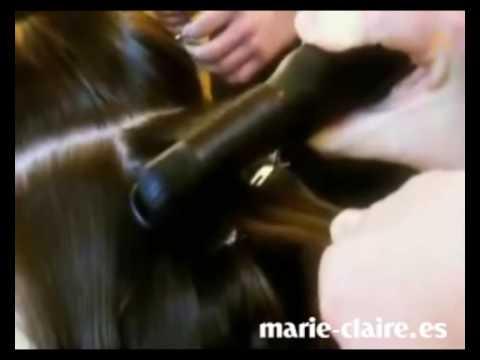 Cómo se hace un peinado de ondas al agua