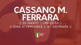 Serie A1F [18^]: Cassano Magnago - Ferrara 32-26