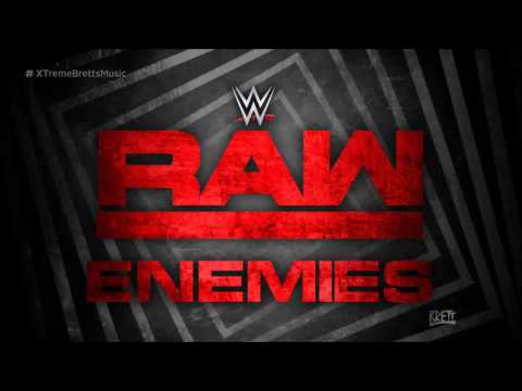 "WWE: ""Enemies"" by Shinedown ► Monday Night RAW New Theme Song"