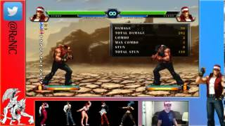 Juicy Bits - KOF13 Character Basics: Terry