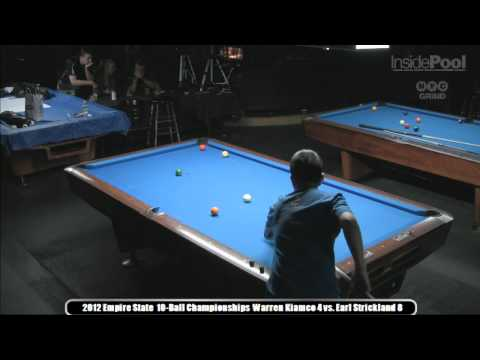 Earl Strickland vs. Warren Kiamco at the 2012  Empire State 10-Ball Championships Predator Tour