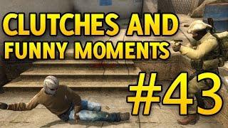 CS GO Funny Moments and Clutches #43 CSGO