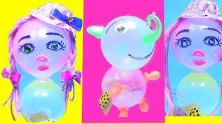 Đồ Chơi Trẻ Em - Tạo Hình Con Vật Và Búp Bê Bằng Máy Bong bóng Oonie Mỹ (chị bí đỏ) búp bê Barbie