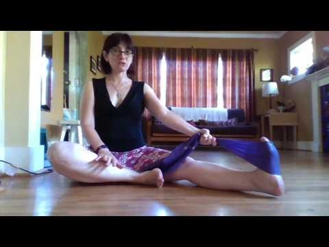 Ankle stretches and strengthening for Argentine Tango