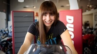 Is TRON's Ducati Sport 1000 Real?! - Fact or Fictional w/ Veronica Belmont