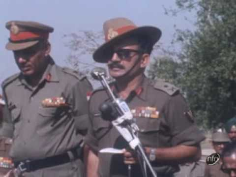 Pakistan Army Surrenders In Bangladesh video