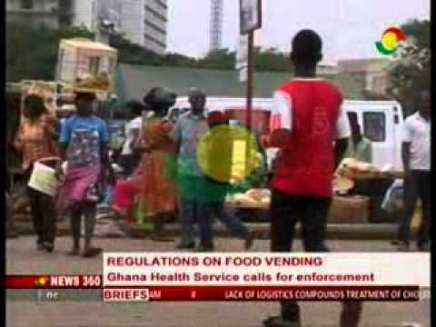 News 360 - Director on Ghana Health Services Speaks to The Ban on Food Vending - 4/9/2014
