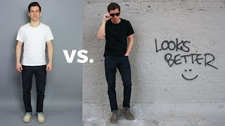How to Look Taller and Leaner | 5 Style Principles You Should Follow