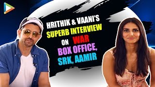 Hrithik & Vaani On WAR, Dangerous Action Scenes, Box Office & Funny Rapid Fire On SRK, Aamir, Tiger