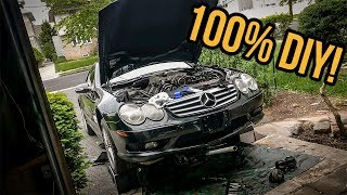 I Saved $1000 By Fixing My Cheap Mercedes-Benz SL55 AMG Myself