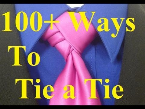 How to Tie a Tie Velvet Knot for your Necktie
