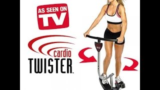 Cardio Twister Express workout part 1