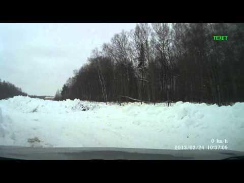 Трасса ледовой дуэли 2013 от Kostroma Racing Team