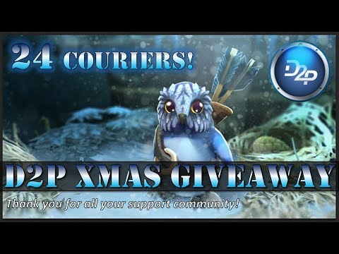 D2P Christmas Giveaway - 24 Couriers / Thank you community!!
