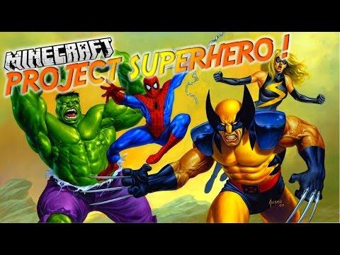 Présentation Du Mod project Superhero! - Deviens Spider-man,wolverine Et Bien D'autres ! [1.7.10] video