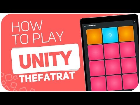 How to play: UNITY (TheFatRat) - SUPER PADS - Kit Mickey 3D