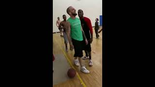 STREET FIGHT | Basketball Argument Turns Into A Quick MMA Fight!
