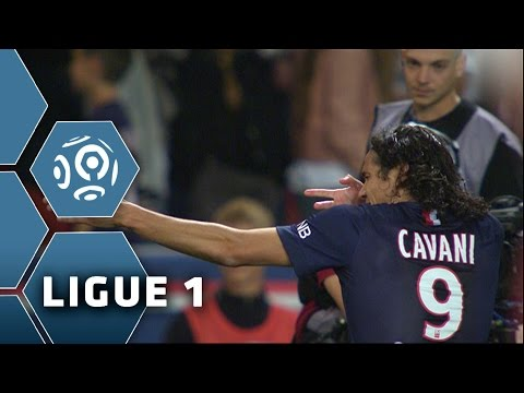 Edinson CAVANI's great shot (63') / PSG - AS Saint-Etienne (5-0) - (PSG - ASSE) / 2014-15