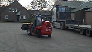 MANITOU BT 420 telescopic loader