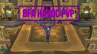 BFA DEMON HUNTER PVP ARENAS lvl 120