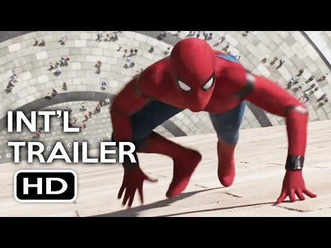 Spider-Man: Homecoming Official International Trailer #1 (2017) Tom Holland Movie HD