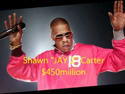 TOP FIVE RICHEST RAPPERS. (2011)