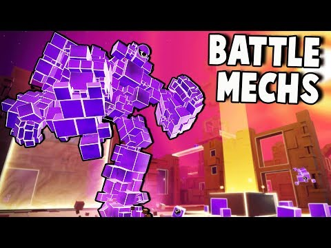 Ultimate Mech Attack Robots!  Atomega Gameplay (New io Game?)